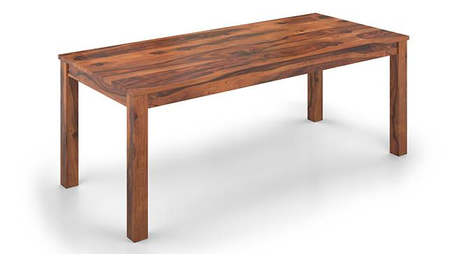 Arabia XXL 8 Seater Dining Table (Teak Finish) by Urban Ladder