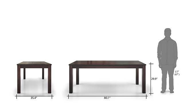 Arabia capra 8 seater dining table set mh 12