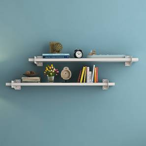 Ryter Shelves - Set Of 2 (White, 3.5' Shelf Width) by Urban Ladder