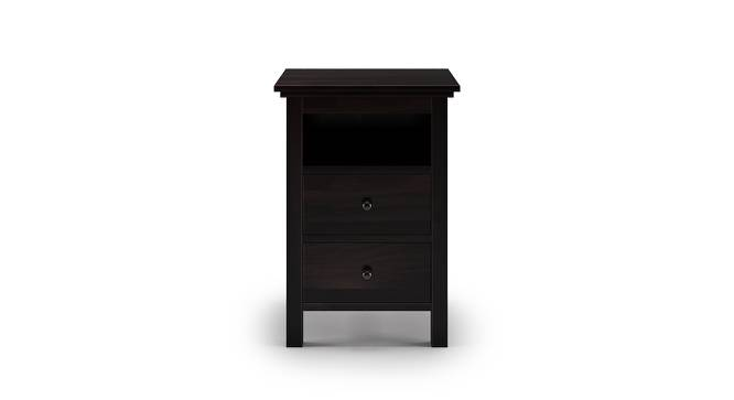 Snooze Tall Bedside Table (Mahogany Finish) by Urban Ladder