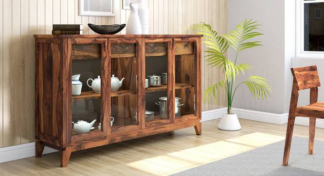 "Akira Wide Sideboard (Teak Finish, XL Size, 165 cm  (65"") Length) by Urban Ladder - Design 1 Full View - 137586"