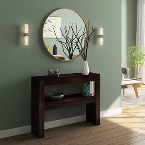 Epsilon Console Table (Mahogany Finish) by Urban Ladder