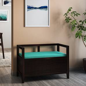 Rhodes Entryway Storage Bench (Mahogany Finish) by Urban Ladder - Design 1 Full View - 137721