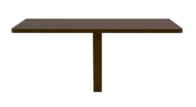 Ivy Wall Mounted Folding Table (Dark Walnut Finish) by Urban Ladder - Front View Design 1 - 137964