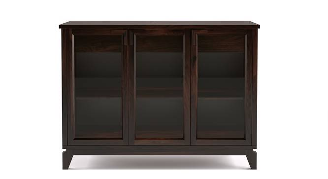 "Akira Wide Sideboard (Mahogany Finish, L Size, 140 cm  (55"") Length) by Urban Ladder - Front View Design 1 - 138038"