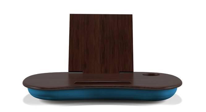 Nuvolo Laptop Table (Dark Walnut Finish) by Urban Ladder