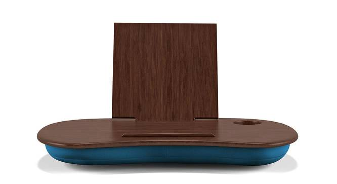 Nuvolo Laptop Table (Dark Walnut Finish) by Urban Ladder - Front View Design 1 - 143016