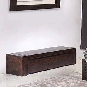 Rille Blanket Box (Mahogany Finish) by Urban Ladder
