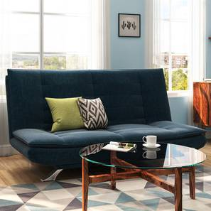 Edo Sofa Cum Bed (Blue) by Urban Ladder - Design 1 - 146238
