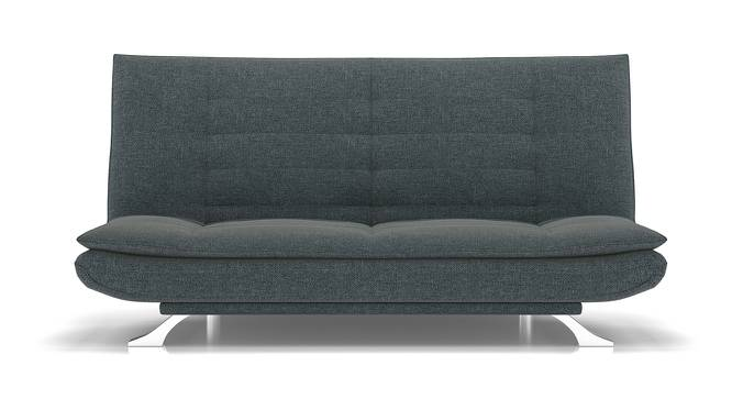Edo Sofa Cum Bed (Grey) by Urban Ladder - Front View Design 1 - 146260