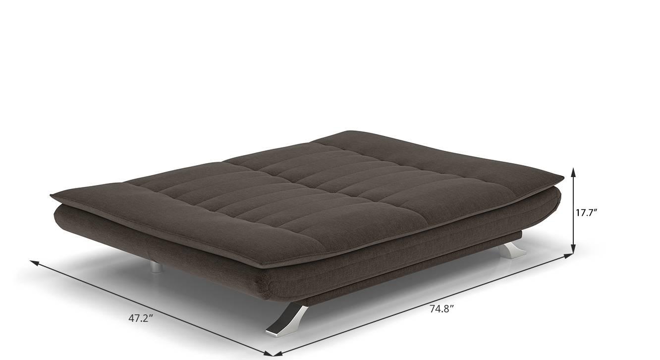 Edo sofa cum bed brown new 110