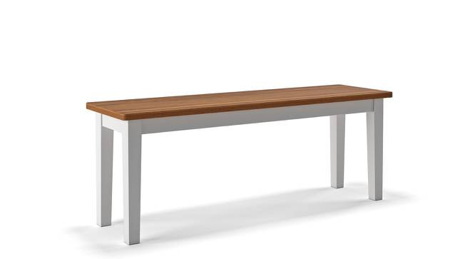 Diner Dining Bench (Golden Oak Finish) by Urban Ladder