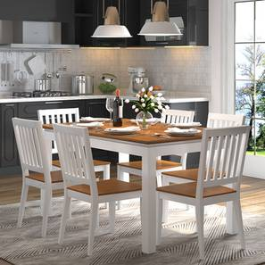 Diner 6 seater dining table set lp
