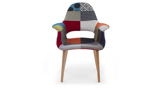 Organic Chair Replica (Patchwork) by Urban Ladder
