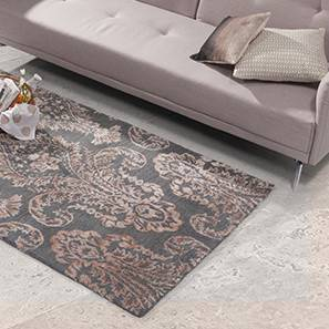 Savoy hand tufted carpet grey lp