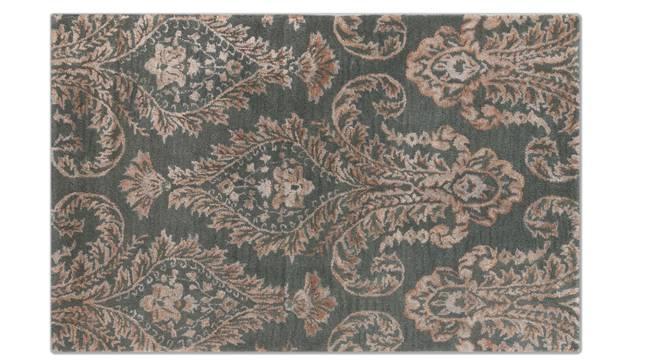 "Savoy Hand Tufted Carpet (Grey, 122 x 183 cm  (48"" x 72"") Carpet Size) by Urban Ladder - Front View Design 1 - 148510"