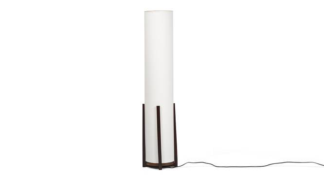 Bel Floor Lamp (Walnut Finish) by Urban Ladder - Front View Design 1 - 148623