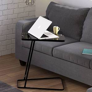 Jony Laptop Table (Black Finish) by Urban Ladder