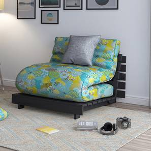 Finn Futon Sofa Cum Bed (Carribean Treasure) by Urban Ladder