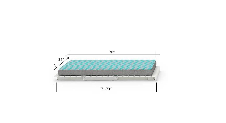 Finn futon blue