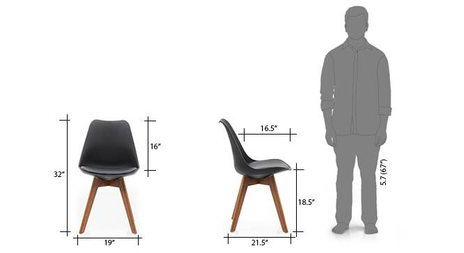 Pashe dining chair black 10