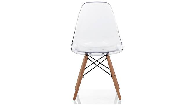 DSW Chair Replica (Clear) by Urban Ladder - Front View - 150899