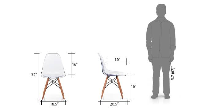 Dsw chair replica clear 9