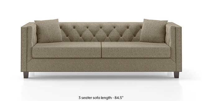Windsor Sofa (Mist Brown) (Mist, Fabric Sofa Material, Regular Sofa Size, Regular Sofa Type)