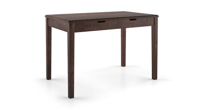 Angelou Study Desk (Walnut Finish) by Urban Ladder - Front View Design 1 - 152378