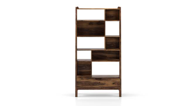 Alberto Bookshelf (Teak Finish) by Urban Ladder