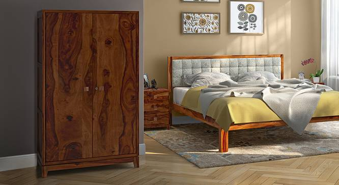 Magellan Wardrobe (Teak Finish) by Urban Ladder