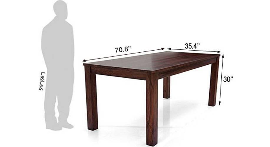 Arabia xl oribi dining table sets with bench mahogany green 5
