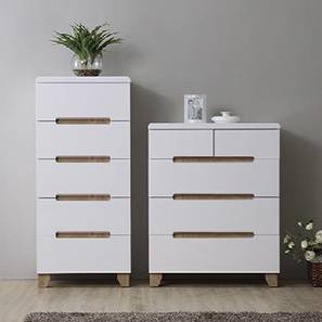 Oslo chest of drawer white lp