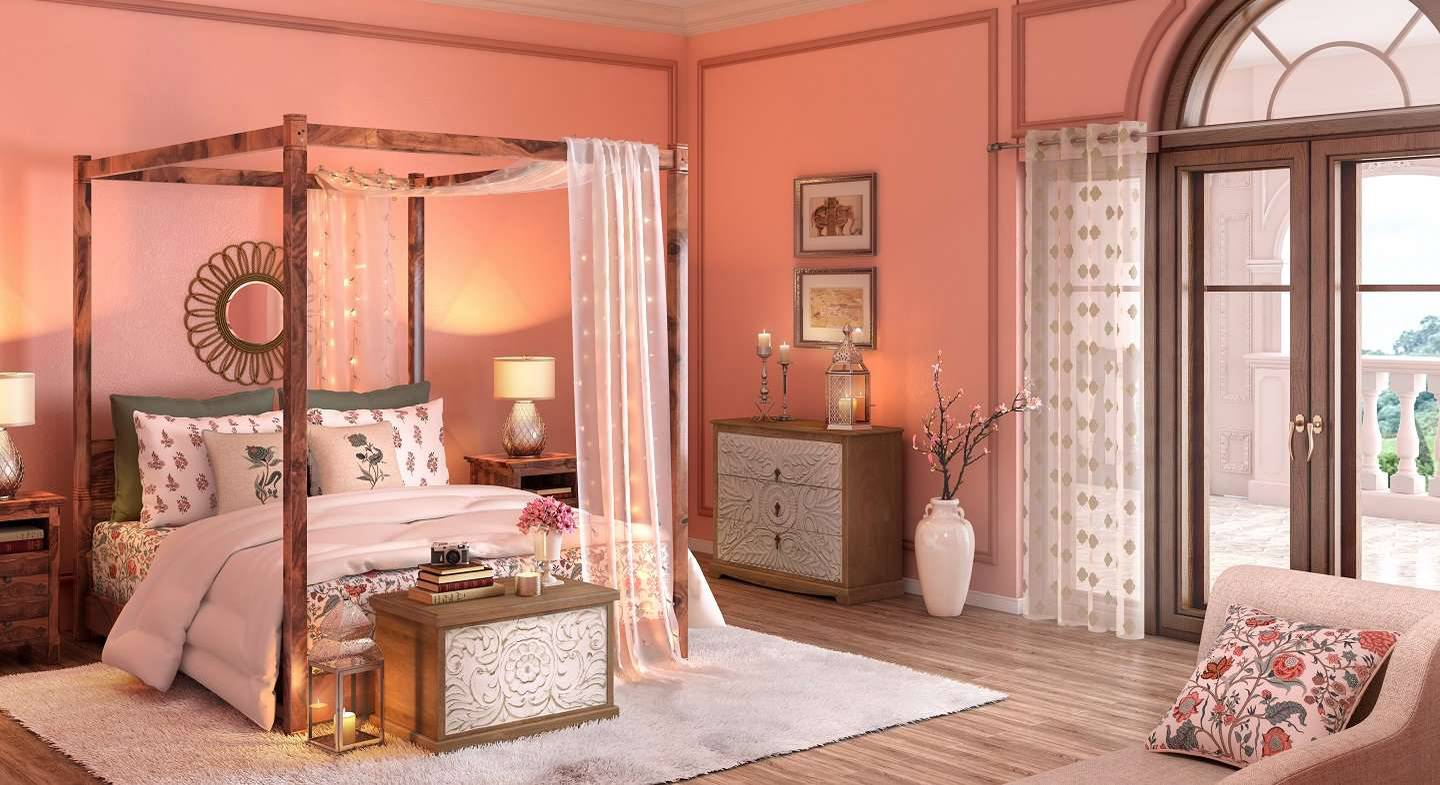 India Inherited - Bedroom (Multicolored Finish) by Urban Ladder - - 155591