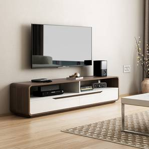 Baltoro High Gloss TV Unit (White Finish) by Urban Ladder - Design 1 - 155622