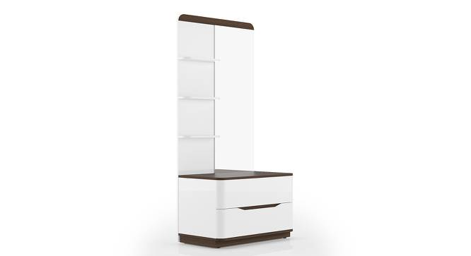 Baltoro High Gloss Dresser (White Finish) by Urban Ladder
