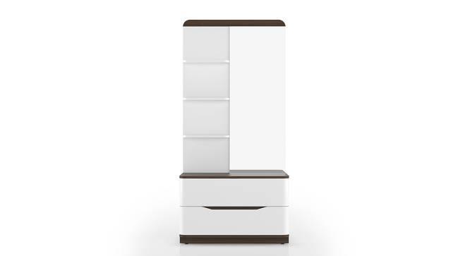 Baltoro High Gloss Dresser (White Finish) by Urban Ladder - Front View Design 1 - 155864
