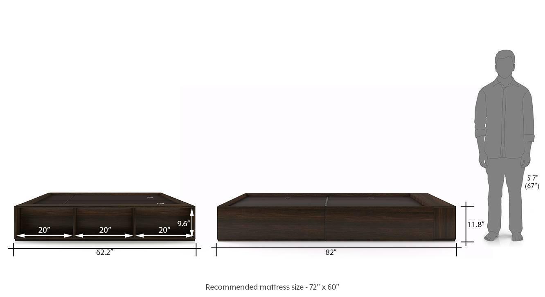 Toshi queen bed 12