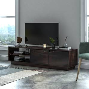 Zephyr TV Unit (Mahogany Finish) by Urban Ladder - Design 1 Full View - 156013