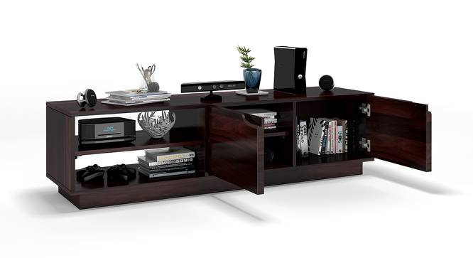 "Zephyr 52"" TV Unit (Mahogany Finish) by Urban Ladder"