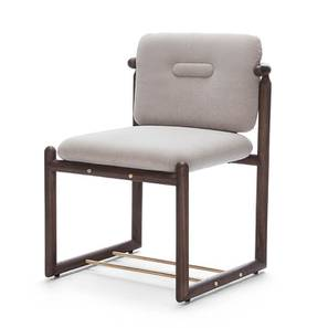 Bethak Dining Chair (Without Arms) (Teak Finish) by Urban Ladder