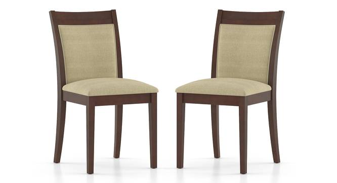 Dalla Dining Chairs - Set of 2 (Beige) by Urban Ladder - Front View Design 1 - 157745