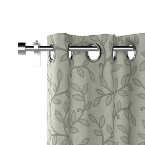 Foglia grey curtain set of 2 lp