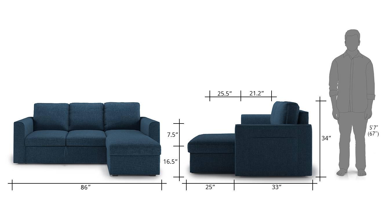 Kowloon sofa cum bed blue 13 copy