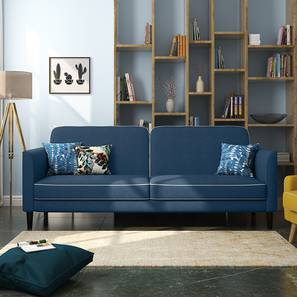 Felicity Sofa Cum Bed (Blue) by Urban Ladder