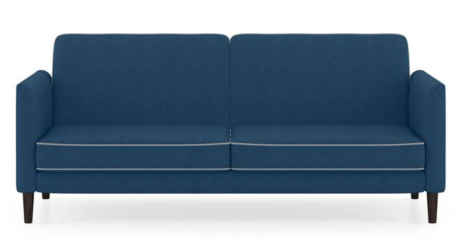 Felicity Sofa Cum Bed (Blue) by Urban Ladder - Front View Design 1 - 158379
