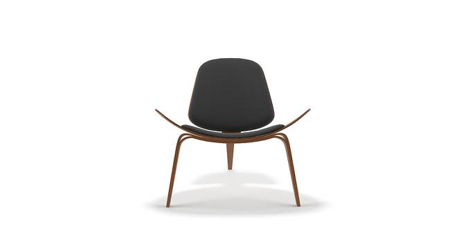 Wegner Shell Chair Replica (Black) by Urban Ladder