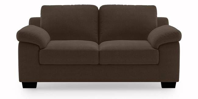 Comfeo Sofa (Dark Brown) (3-seater Custom Set - Sofas, None Standard Set - Sofas, Dark Brown, Fabric Sofa Material, Regular Sofa Size, Regular Sofa Type)