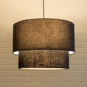 Halo Double Pendant Light (Black) by Urban Ladder