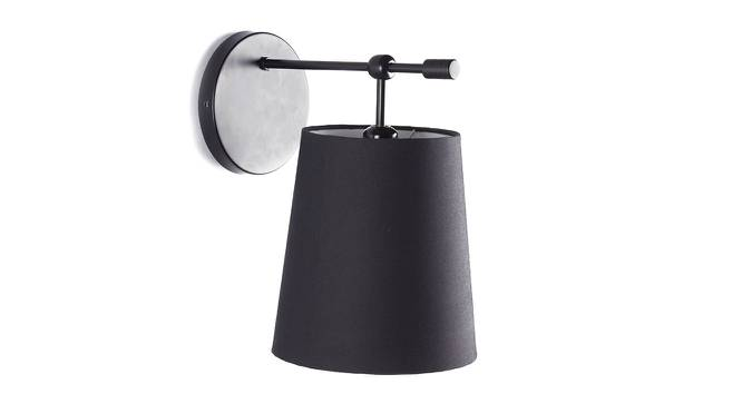 Sphynx Wall Lamp (Black) by Urban Ladder - Front View Design 1 - 159286